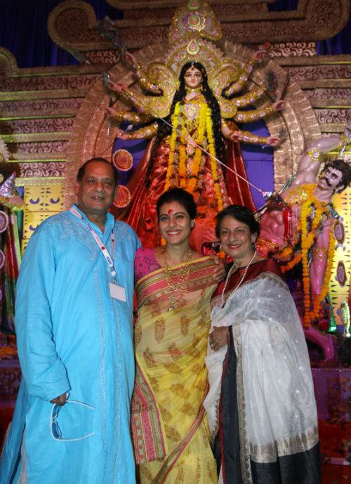 Debu Mukhejee, Kajol and Tanuja