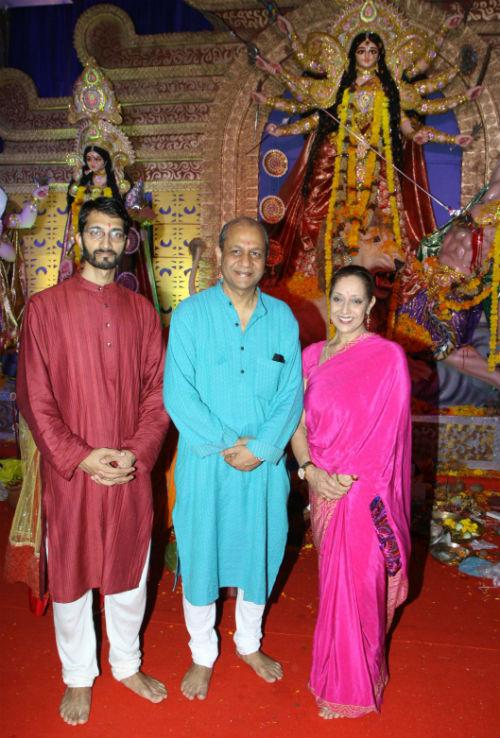 Siddharth Basu with his family