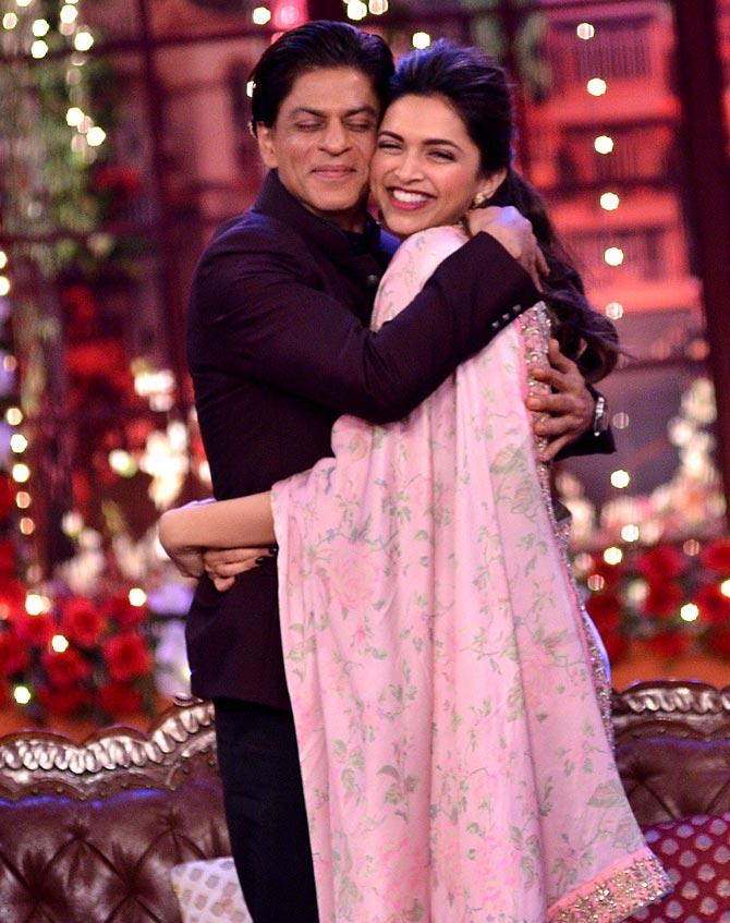 Shah Rukh Khan Deepika Padukone
