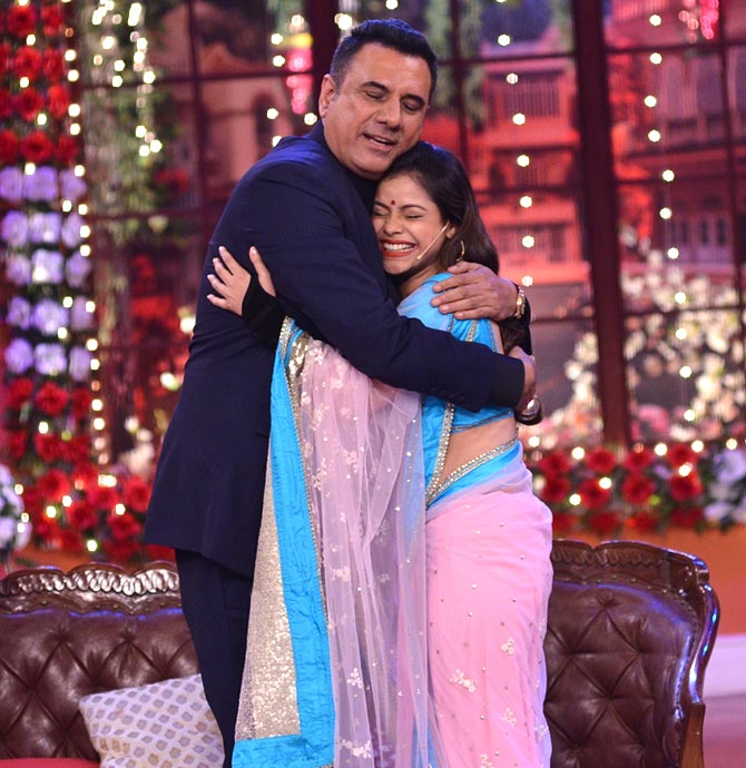 Boman Irani and Sumona Chakravarti