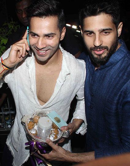 Varun Dhawan And Siddharth Malhotra PIX: Varun Dhawan, Sid...