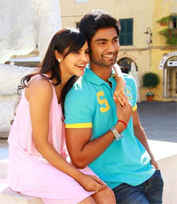 A still from Irumbu Kuthirai