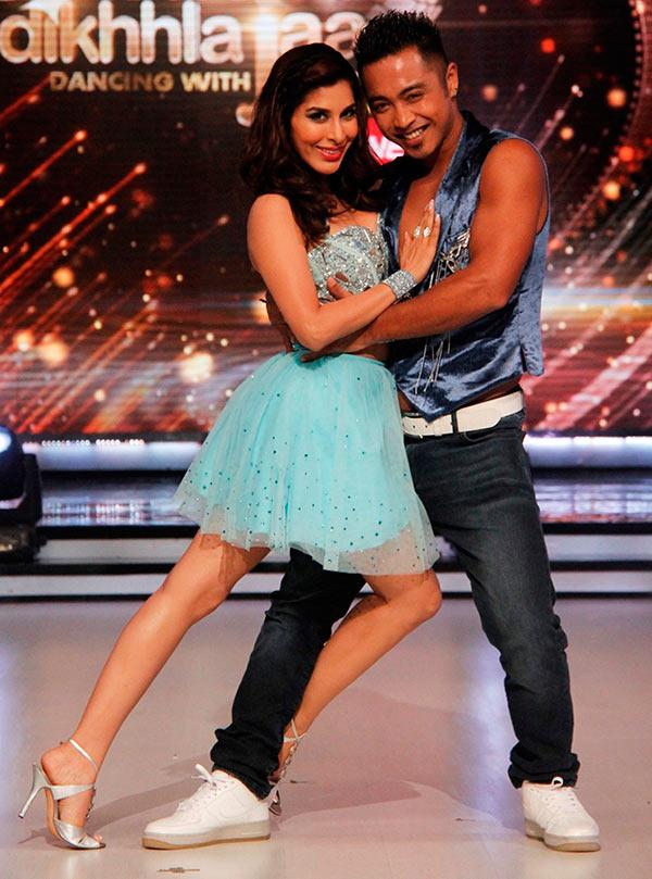 Sophie Choudry with Deepak