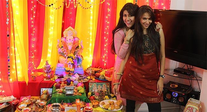Ankita Bhargava and Rishina Kandhari