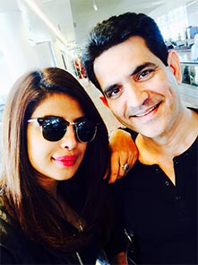 Priyanka Chopra and Omung Kumar
