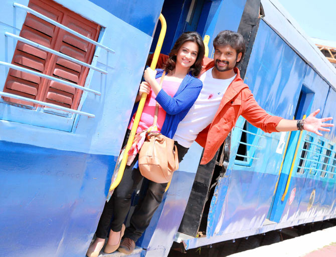 A still from Tirupati Express