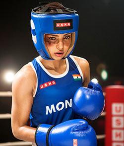 Priyanka Chopra in and as Mary Kom