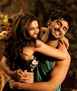 Deepika Padukone and Arjun Kapoor in Finding Fanny