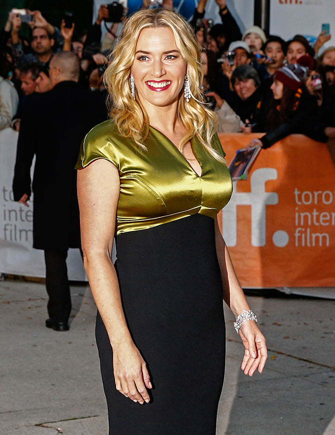Current Bollywood News & Movies - Indian Movie Reviews, Hindi Music & Gossip - PIX: Kate Winslet, Christopher Plummer at TIFF