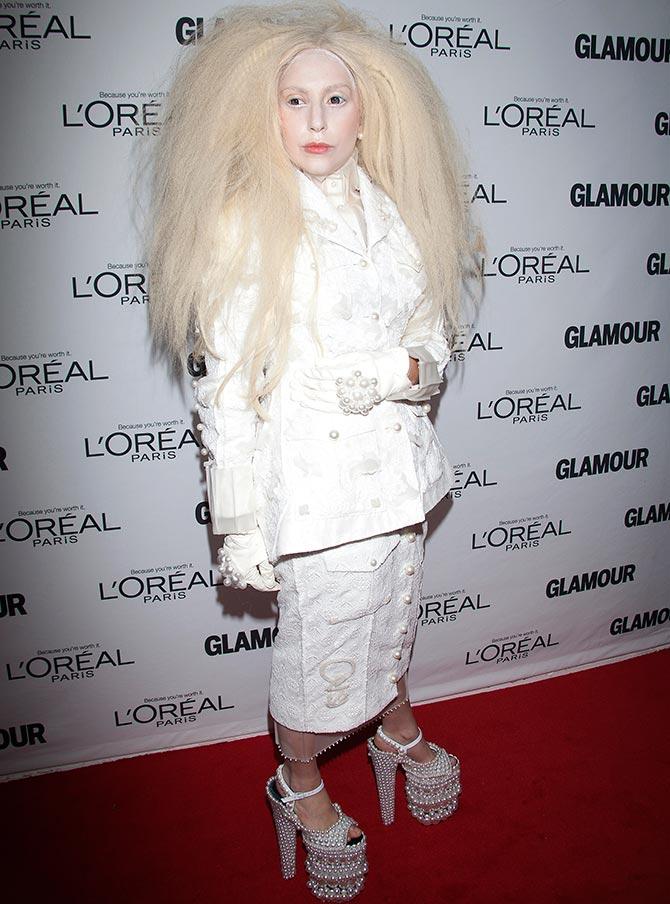Meats Spikes Sea Shells Lady Gaga S Most Bizarre