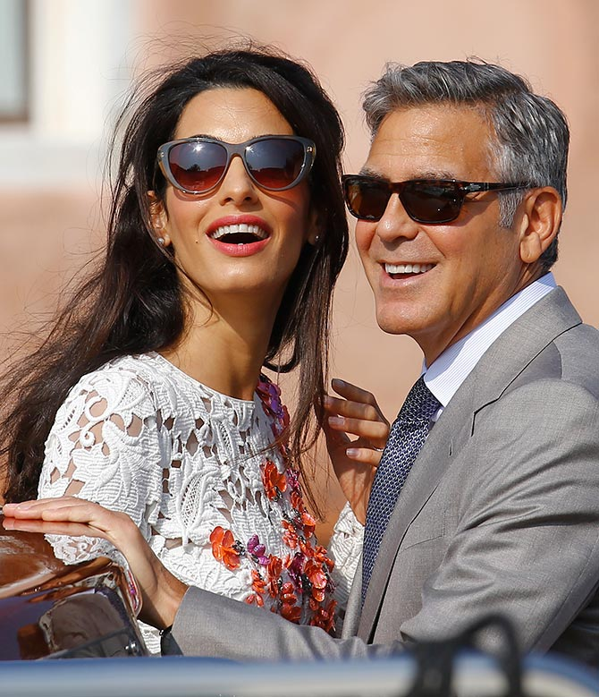 Current Bollywood News & Movies - Indian Movie Reviews, Hindi Music & Gossip - PIX: Inside the George Clooney-Amal Alamuddin wedding