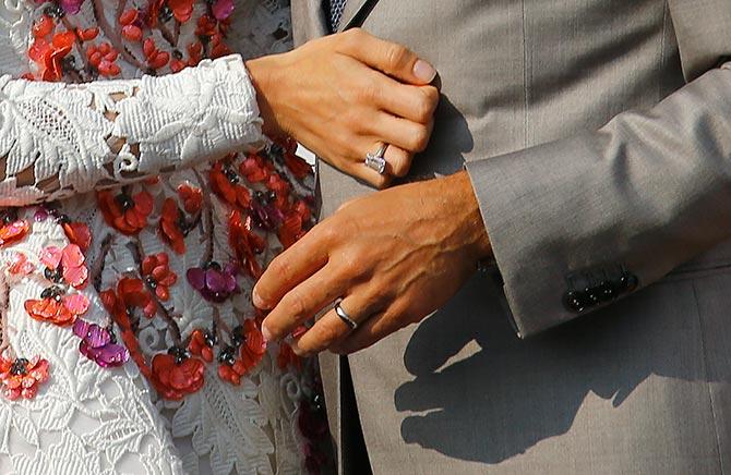 PIX: Inside The George Clooney-Amal Alamuddin Wedding