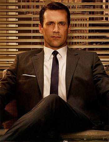 Jon Hamm in Mad Men