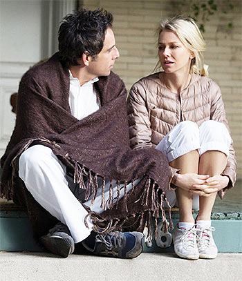 Ben Stiller and Naomi Watts in While We're Young
