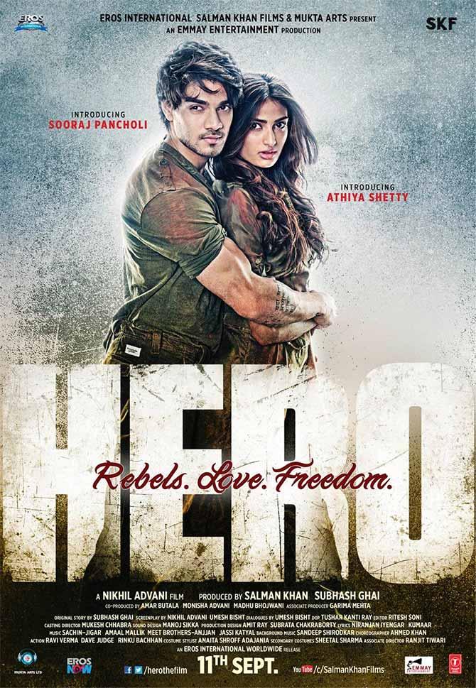 Like The New Poster Of Nikhil Advanis Hero Rediffcom Movies