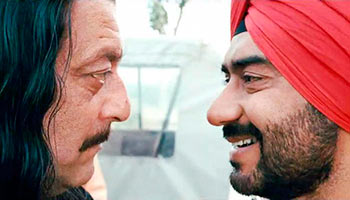Sanjay Dutt and Ajay Devgn in Son of Sardaar