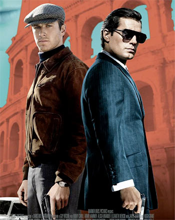 Armie Hammer and Henry Cavill in The Man From UNCLE