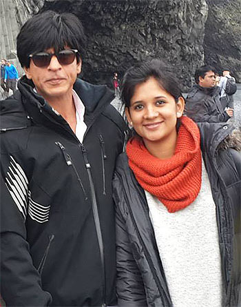 Current Bollywood News & Movies - Indian Movie Reviews, Hindi Music & Gossip - SPOTTED! Shah Rukh's Dilwale team in Iceland