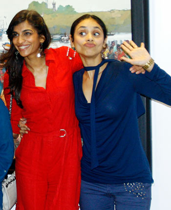 Current Bollywood News & Movies - Indian Movie Reviews, Hindi Music & Gossip - PIX: Angry Indian Goddesses visit Rediff!