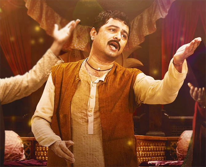 Subodh Bhave in his box office hit, Katyar Kaljat Ghusali.