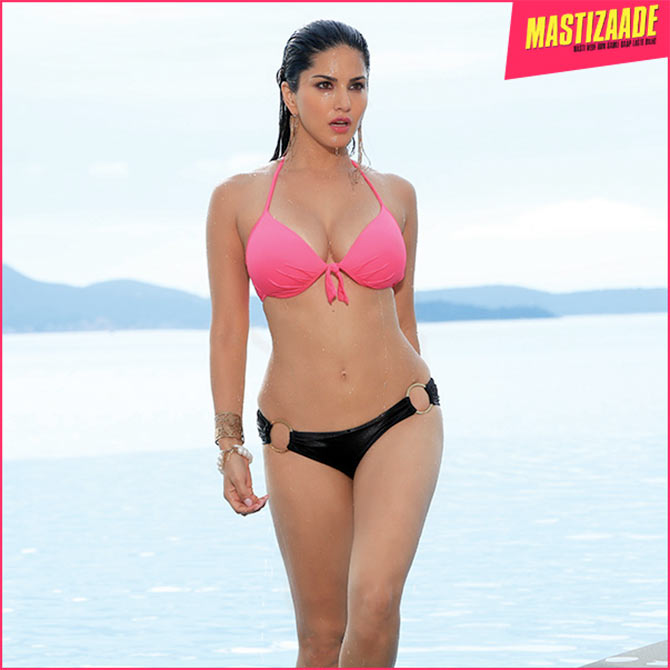he wardrobe in Mastizaade consists of only two dresses, a pair of ...