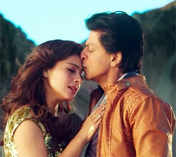 Kajol and Shah Rukh Khan in Dilwale