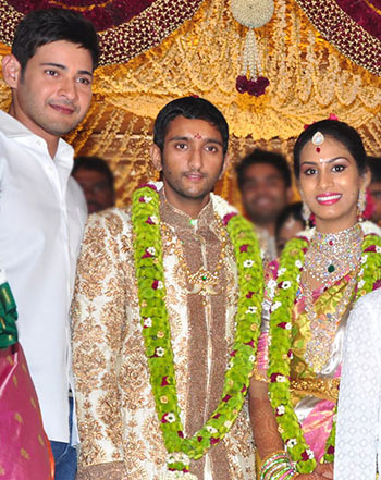 Pix: A wedding in Mahesh Babu's family - Rediff com movies
