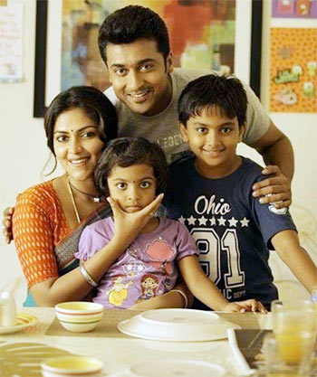 Suriya and Amala Paul in Pasanga 2