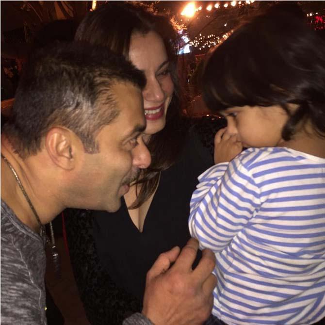 PIX: Inside Salman Khan's 50th birthday party! - Rediff ...