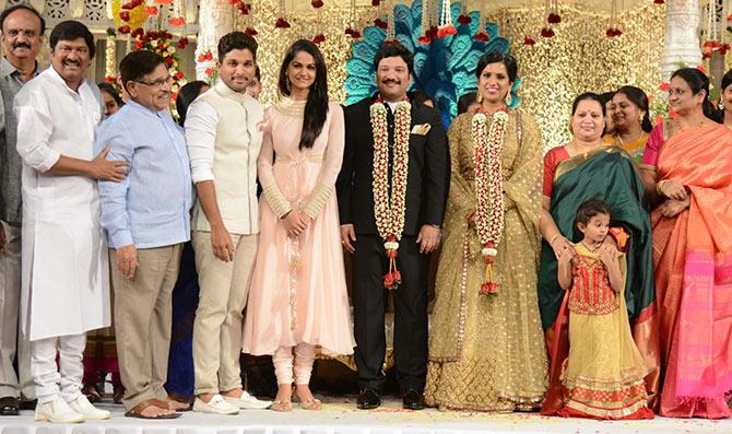 PIX Chiranjeevi Samantha At Rajendra Prasads Son Wedding