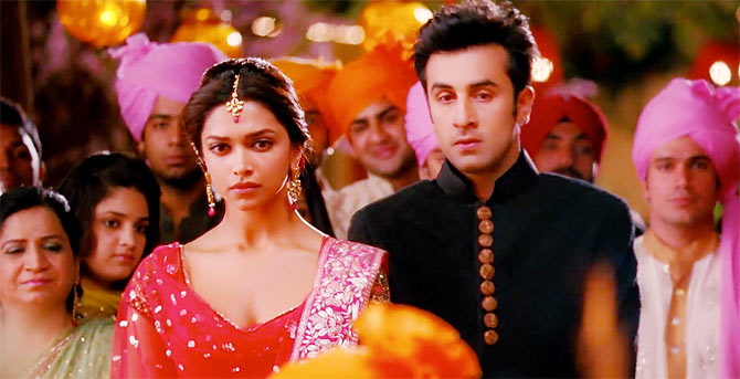 A still from the movie Yeh Jawaani Hai Deewani