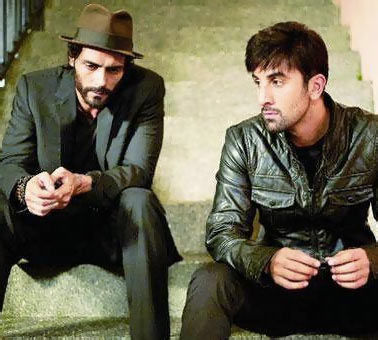 Arjun Rampal and Ranbir Kapoor in Roy