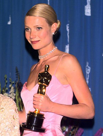 Gwyneth Patrow at the Oscars