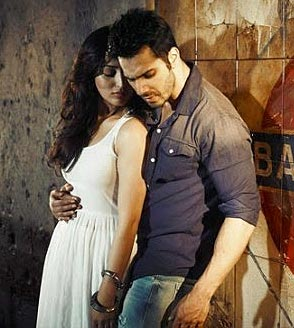 Yami Gautam and Varun Dhawan in Badlapur