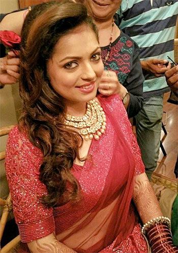 Current Bollywood News & Movies - Indian Movie Reviews, Hindi Music & Gossip - PIX: TV actress Dhrasti Dhami weds