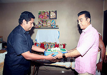Jeethu Joseph and Kamal Haasan