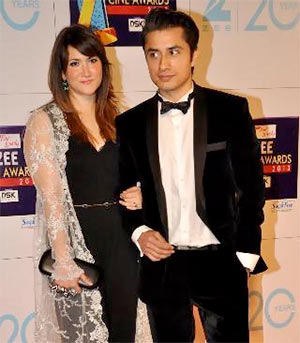 Ayesha and Ali Zafar