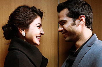 Anushka Sharma and Neil Bhoopalam in NH 10