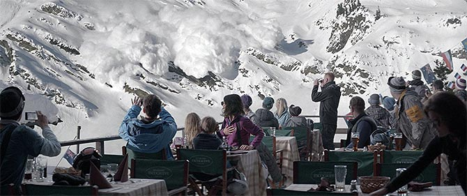 A scene from Force Majeure