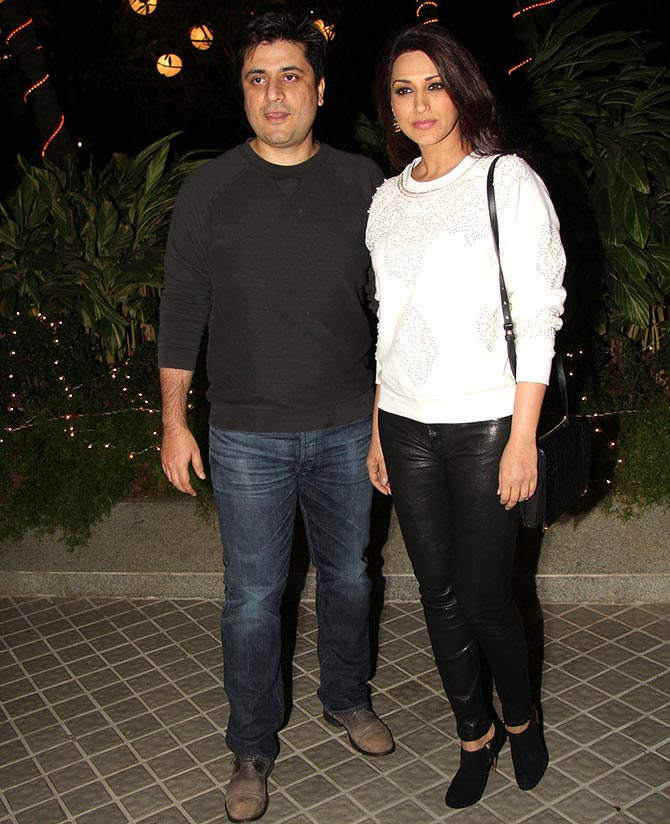Goldie Behl and Shristi Arya