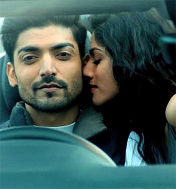 Gurmeet Chaudhary and Sapna Pabbi in Khamoshiyan