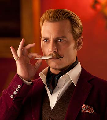 Current Bollywood News & Movies - Indian Movie Reviews, Hindi Music & Gossip - Review: Mortdecai is Johnny Depp's worst film