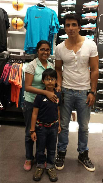 Current Bollywood News & Movies - Indian Movie Reviews, Hindi Music & Gossip - Spotted: Sonu Sood in Dubai
