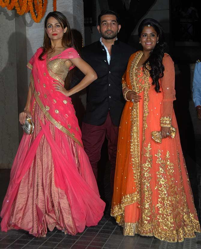 PIX Kareena Saif KJo At Soha Kunal Wedding Reception