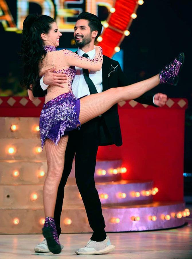 Shahid Kapoor and Scarlett Wilson