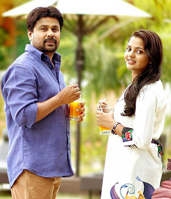 Dileep and Nikhila Vimal in Love 24X7