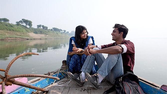Shweta Tripathi and Vicky Kaushal