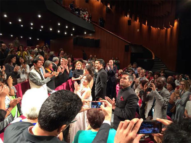 The standing ovation at Cannes