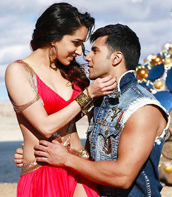 Shraddha Kapoor and Varun Dhawan in ABCD 2
