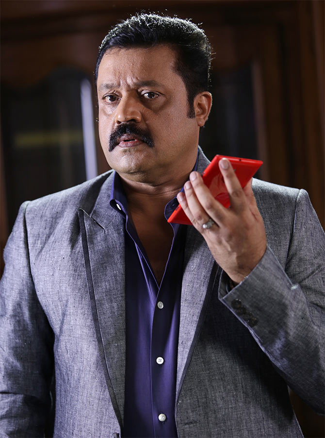 Suresh Gopi shown the door by NSS - Rediff.com Movies